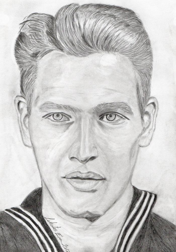Paul Newman by LakatosEve
